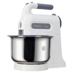 Kenwood HM680 Chefette Hand Mixer 350 Watts 5 Speed Settings 3L Stainless Steel Mixing Bowl - With 1