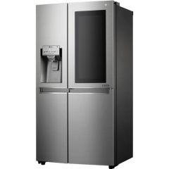 Lg GSX960NSVZ Agency Instaview Door-In-Door™ American Style Fridge Freezer - Premium Steel - A++ Ene