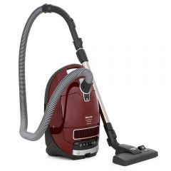 Miele 10995580 Complete C3 Pure Red Powerline Bagged Cylinder Vacuum Cleaner