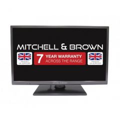 Mitchell + Brown JB-241811FSMDVD 24 Freeview HD, DVD, Smart, Freeview Play, Central Stand