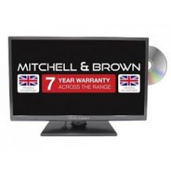 Mitchell + Brown JB-321811FDVD 32 Freeview HD, DVD, Central Stand