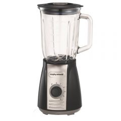 Morphy Richards 403010 Total Control Grey Table Blender - Glass - 600W