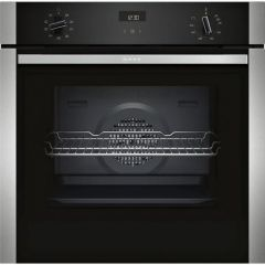 Neff B1ACE4HN0B Agency Electric Circotherm® Single Oven - Black/Steel - A Energy Rated