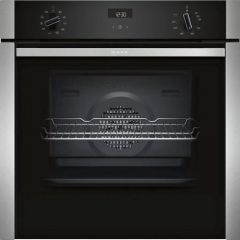 Neff B3ACE4HN0B Agency Slide+Hide® Built In Electric Single Oven - Stainless Steel - A Rated
