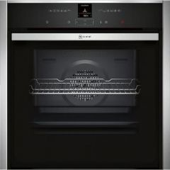 Neff B57CR23N0B Agency Pyro Slide And Hide Multifunction Single Oven