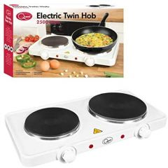 Quest 35250 Twin Table Top Hob 1500W And 1000W Plates