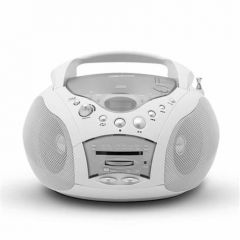 Roberts Radio Ltd CD9959W 'Swallow'3-Band CD Stereo Radio With Deep Bass Boost In White