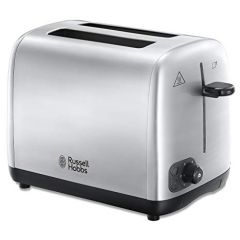 Russell Hobbs 24081 Two Slice Toaster, Brushed Stainless Steel Adventure