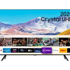 Samsung UE43TU8000KXXU Agengy 43` 4K Uhd Smart TV - A Energy Rated