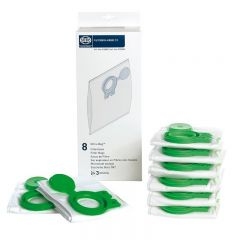 Sebo 8120ER Pack Of 8 Ultra Bags To Fit Airbelt D Models