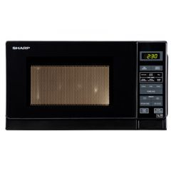 Sharp R-272KM Black Touch Control Microwave
