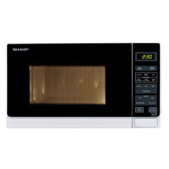 Sharp R-272WM Microwave Oven, 20 Ltrs, Compact, 800 Watts, Touch Control,