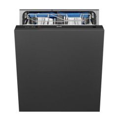 Smeg DI13EF2 Agency Integrated Full Size Dishwasher - Black - A++ Energy Rated