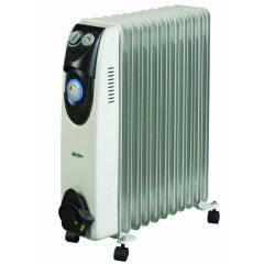 Stirflow SOFR25T 2.5Kw Heater With Thermostat And Timer