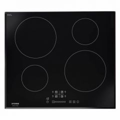 Stoves SIH602TC 60Cm Built-In Electric Induction Hob. Features Include Touch Control, 9 Power Settin