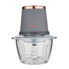 Tower T12058RGG Cavaletto 350W 1L Glass Mini Chopper Grey And Rose Gold