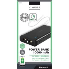 Vivanco 34299 10000Mah Power Bank