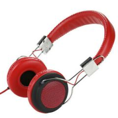 Vivanco 34480 CDL400 RED Street Style Headphones