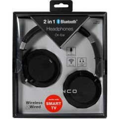 Vivanco 37578/BLUETOOTH Vivanco 2 In 1 Bluetooth Headphone Works With Smart TV