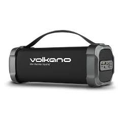 Volkano VK-3302-BK Volkano Mini Bazooka Squared Series Bluetooth Wireless Speaker With Carry Strap