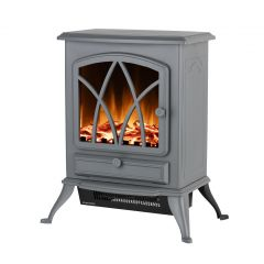 Warmlite WL46018G 2Kw Stirling Electric Fire Stove Grey