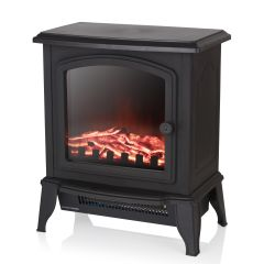 Warmlite WL46021 2Kw Mable Compact Stove Fire Black