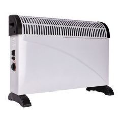Wellco WELH204 2Kw Convector Heater 3 Heat Settings Adjustable Thermostat
