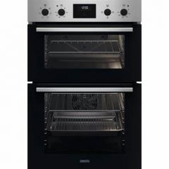 Zanussi ZKCXL3X1 Agency 56Cm Built In Electric Double Oven - Stainless Steel