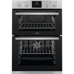 Zanussi ZOA35660XK Agency Built In Electric Double Oven - Stainless Steel - A Energy Rated